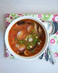 tomato miso soup