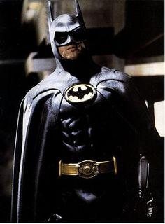 """Sin duda y por mucho, mi actor consentido haciendo a """"Bats"""": Michael Keaton."""
