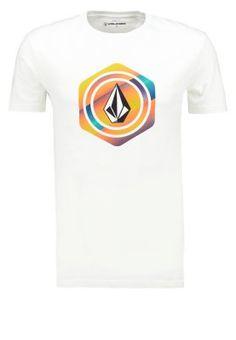 Volcom - HEXSTONE BASIC FIT - T-shirt print - white