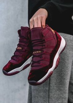 Air Jordan 11 Retro RL GG Heiress 'Red Velvet' (via Overkill) - Tap the pin if you love super heroes too! Cause guess what? you will LOVE these super hero fitness shir Sneakers Mode, Sneakers Fashion, Fashion Shoes, Shoes Sneakers, Kd Shoes, Jordans Sneakers, Air Jordan Sneakers, Adidas Fashion, Fashion Men