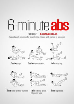 6 Minutes #Abs #Workout #absworkout #flatbelly #exercise #workout #fitness #bodybuilding #musclebuilding