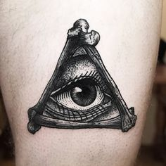 Eye In Illuminati Eye Tattoo Design
