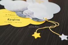 Son faire part de naissance (oui oui un an en retard) - Le Carnet d'Emma Oui Oui, Moment, Non Non, Happiness, Movie Posters, Cloud Shapes, Black Picture, Bonheur, Film Poster