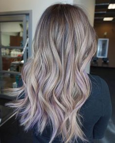 Color with hints of purp