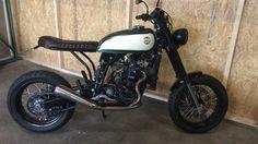Ktm 640 lc4 scrambler by moto adonis