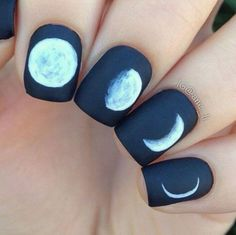 Pin for Later: 40 Moody Nail Ideas That Will Make You Take the Plunge Into Grunge