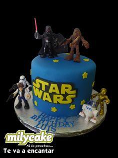 Pastel Star Wars / Star Wars Cake