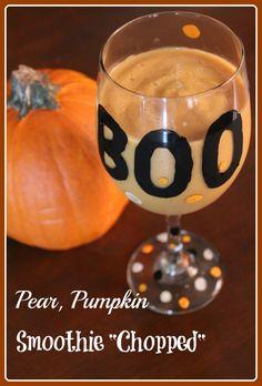#Pear, #Pumpkin #Smoothie #Chopped