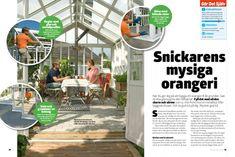 Orangeri: Bygg själv ett orangeri från grunden | Gör Det Själv
