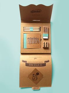 'The Creative Kit' completed end of 2013 as end of year assignment for Diploma of graphic design course at SBIT.