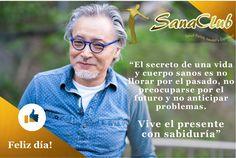 😌Vive el presente #frasedeldia #SanaClubKlauss #salud #bienestar #bucaramanga #jueves