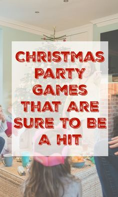 5+ Family Christmas Party Games