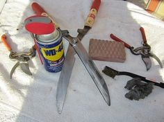How to Clean Rusty Garden Tools   The Home Depot Community