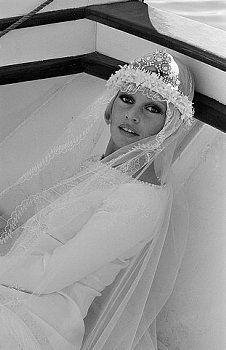 Brigitte Bardot on the set of Boulevard du Rhum (Rum Runners), directed by Robert Enrico.