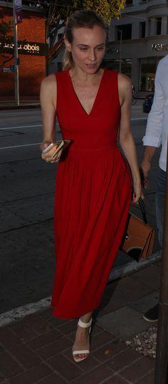 Diane Kruger, dress