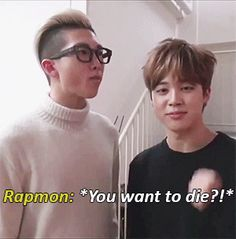 omg Jimin is sooooo cute and Namjoon is damn handsome