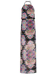 MANGO - Paisley printed long dress