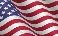 waving american flag clip art usa flags vector free american