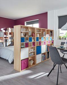 Une chambre intime dans un espace ouvert ? Rien de plus facile et de plus rapide…