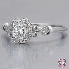 Art Deco Engagement Ring <3 by taaylajade