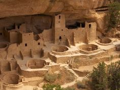 Anasazi Ruins, Mesa Verde National Park, Canyon de Chelly National Monument, Dark Canyon Wilderness between Colorado, Arizona, and Utah (these ruins are consider sacred places, once home to the Anzsazi Pueblo People, ancient Native Americans, who were believed to have lived there as long ago as 12 century BC)