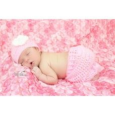 Pink baby set, Newborn crochet baby girl outfit, Infant girl outfit, Girl hats crochet, Girls newborn hats