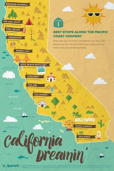 The Ultimate California Road Trip 19 Places To Stop Eat See and