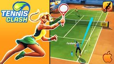Tennis Clash – The Basics, Gameplay, Cheats and Tennis Games, Play Tennis, Sports Games, Clash Games, Armored Core, Real Player, Sports Training, Keep Trying, First Game