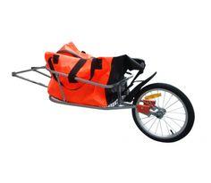 Cykelvagn med väska för transport  949kr Beskrivning: Denna smidigacykel vagnpassar alldeles utmärkt för transport av bagage och andra tyngre saker, då den är 65x40 cm stor och klarar upp till 30 kg. Vagnen går att enkelt montera på alla typer av cyklar, och dess stabila ram gör att man kan transportera både lätta och tyngre saker med den. På dennacykel kärrafinns det en väska som rymmer upp till 90 liter, i vattentätt material som gör att ditt bagage inte förstörs om det skulle…