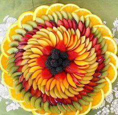 Ensalada de frutas.