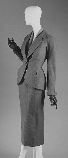 """House of Dior Suit """"Désirée"""" Fr. 1951 Wool"""