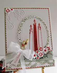 pamscrafts: Traditional Christmas card. 5
