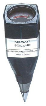 Soil PH Meter > Easy to operate Hand held size Includes full instructions
