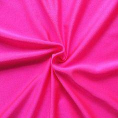 Bi-Stretch Jersey Badeanzug Stoff Farbe Hot-Pink