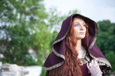 средневековый шерстяной плащ-солнце