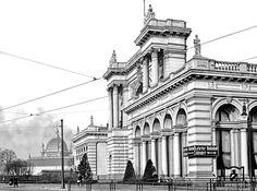 Berliner Lehrter Bahnhof in den 20ern