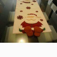 trilho de mesa natal