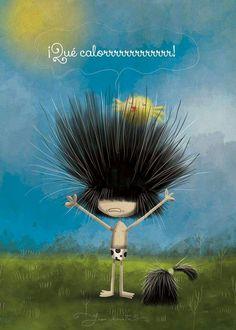 ¡Que calorrrrr!!!! Puro Pelo by Juan Chavetta!!!