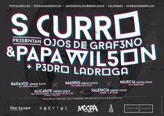 28 de febrero S Curro y Papa Wilson presentando Ojos de Grafeno en la Sala Nueva Revuelta - San Vicente Del Raspeig