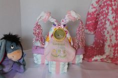 Baby Girl Diaper Tricycle by CountryMoonCrafts on Etsy, $59.95