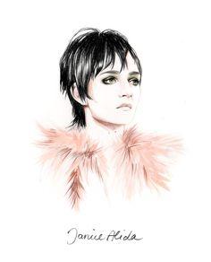 Caroline Andrieu #Fashion #illustration #art