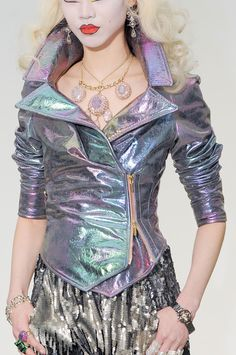 I'm not a big fan of the overall concept, but I do love the holographic jacket. It's very futuristic-y.