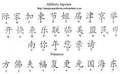 alfabeto japonés