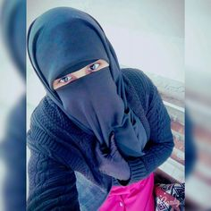 Pin by Qisya Qaleesya on Outfit ( Mix ) | Niqab Face veil ...