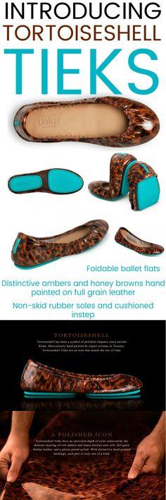 Introducing Tortoiseshell TIEKS: stunning hand painted ambers and honey brown markings on patent leather with those iconic blue soles. ~ #affiliate #Tieks #tiekslove #tieksgirl #tieksbygavrieli #blueprints #balletflats #foldableshoes #foldableballetflats #shoes #flats #fallshoes #tiekslover #tieksfreak #FBloggers #FashionBloggers #dressedup #chic #style #trend #Fashionista #ootd #StyleBlog #StyleBlogger