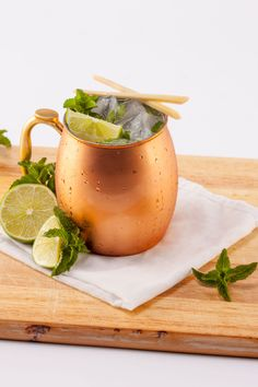 MOSCOW MULE - For those who always order: vodka sodas What it's made with: vodka, ginger beer, lime juice