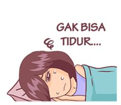 Galau by Segocha Cute Cartoon Characters, Cartoon Jokes, Anime Muslim, Hijab Cartoon, Quotes Indonesia, Funny Stickers, Cute Gif, Islamic Art, Kids And Parenting