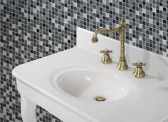 Retro 1, Sink, Bathroom, Home Decor, Sink Tops, Washroom, Vessel Sink, Decoration Home, Room Decor