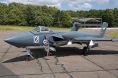 De Havilland Vampire, Aircraft Carrier, Vixen, Fighter Jets, Sea, The Ocean, Ocean