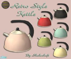 shakeshaft's Retro Style Kettle